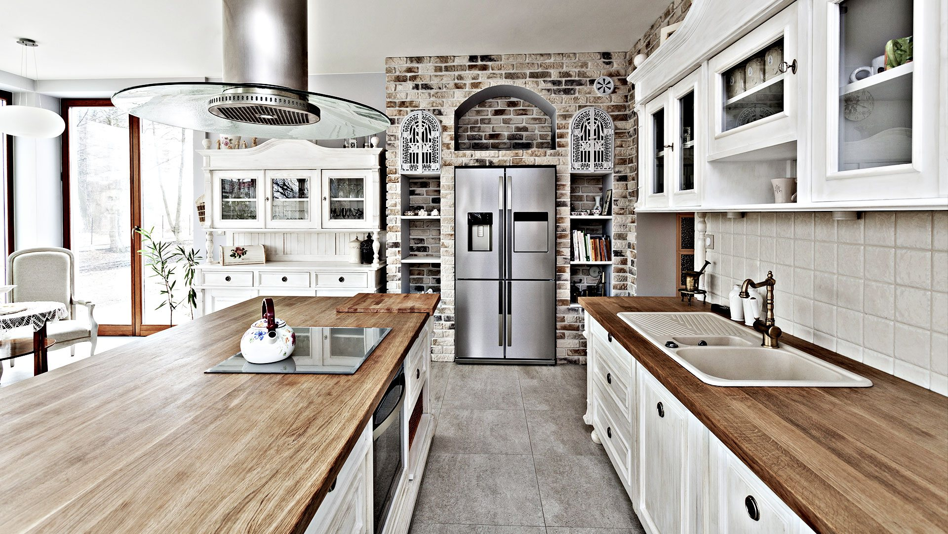 A R Home Renovation Corp Remodeled Kitchen 1