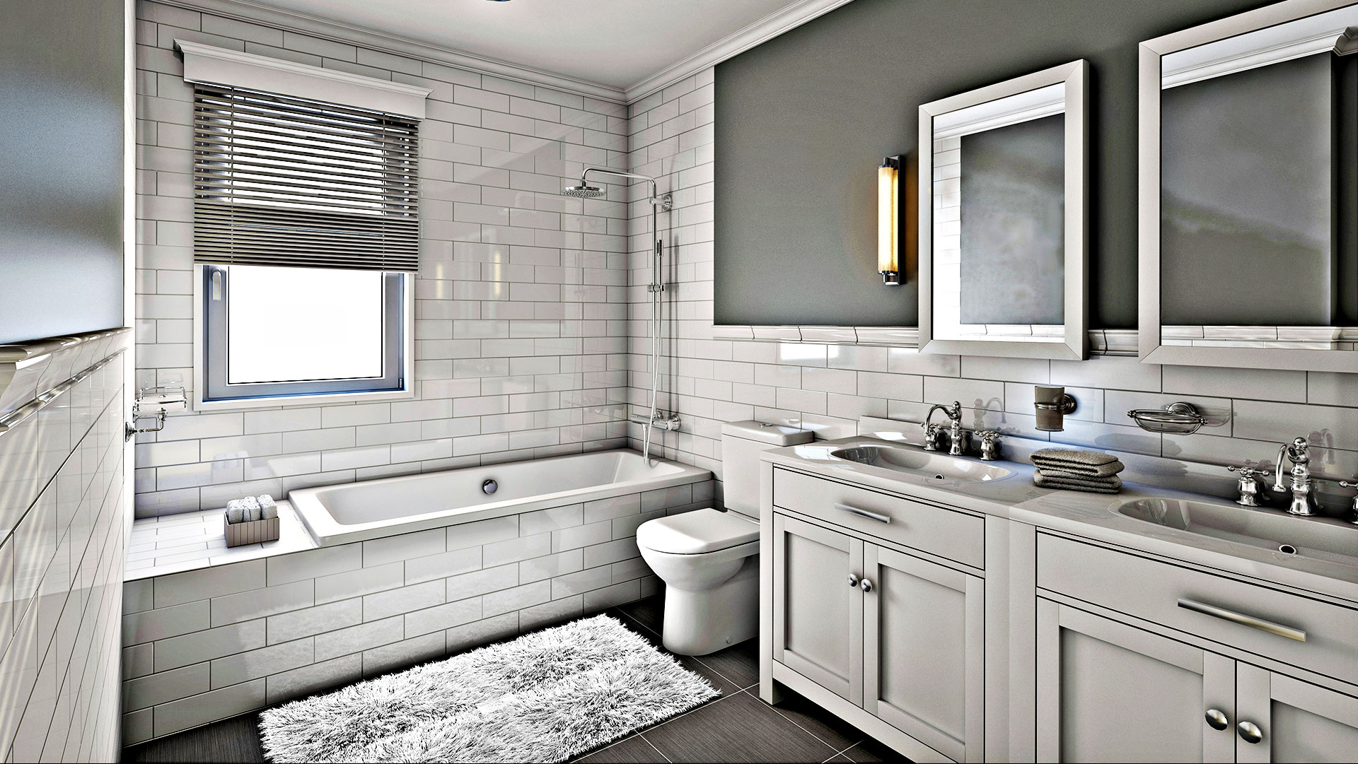 A R Home Renovation Corp Remodeled Bathroom